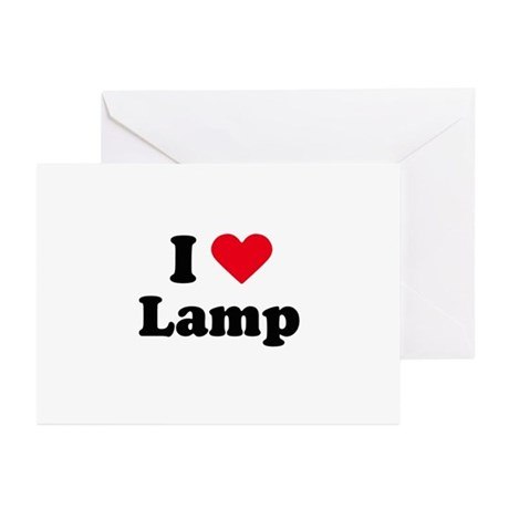 I love lamp Greeting Cards (Pk of 20)