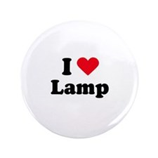 """I love lamp 3.5"""" Button (100 pack)"""