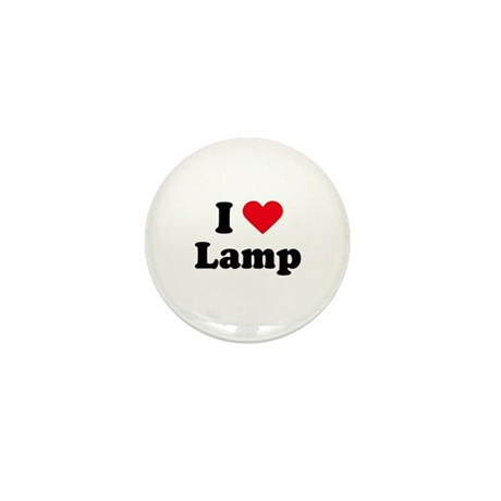 I love lamp Mini Button