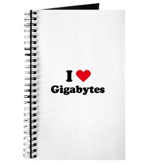 I love gigabytes Journal