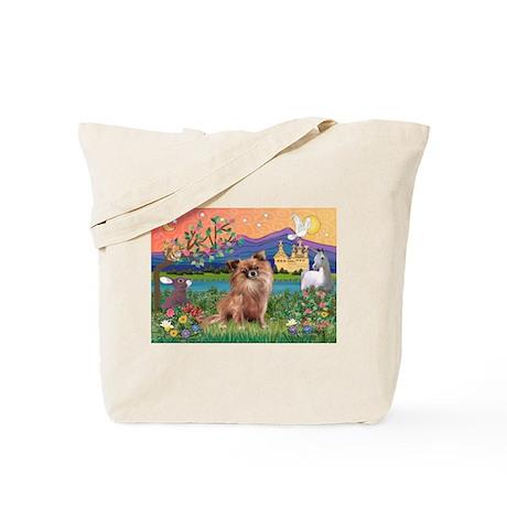 Fantasy Land / Chihuahua Tote Bag