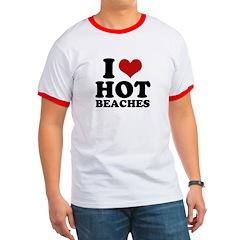 I love hot beaches T