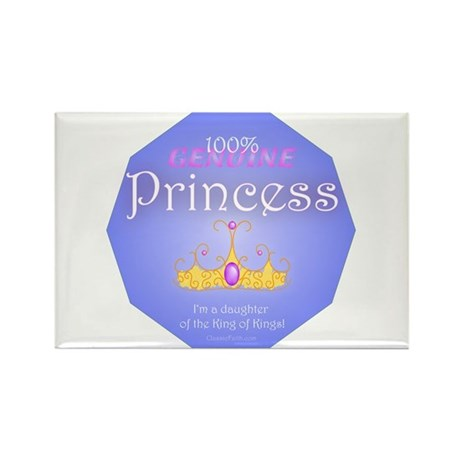 Genuine Princess Rectangle Magnet