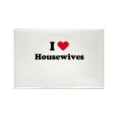 I love housewives Rectangle Magnet (10 pack)