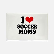 I love soccer moms Rectangle Magnet