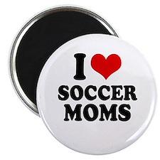 """I love soccer moms 2.25"""" Magnet (100 pack)"""