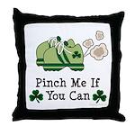 St Patrick's Day Runner Throw Pillow