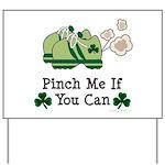 St Patrick's Day Runner Yard Sign