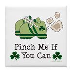 St Patrick's Day Runner Tile Coaster