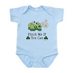 St Patrick's Day Runner Infant Bodysuit