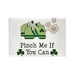 St Patrick's Day Runner Rectangle Magnet (10 pack)