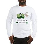 St Patrick's Day Runner Long Sleeve T-Shirt