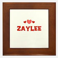 Zaylee Framed Tile