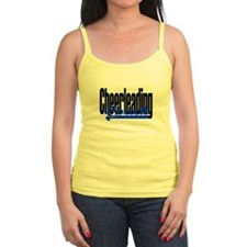 Cheerleading Coach (Blue) Ladies Top