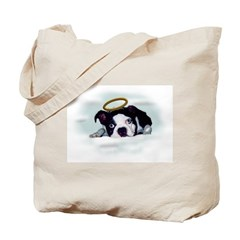 I LOVE BOSTON TERRIERS Tote Bag
