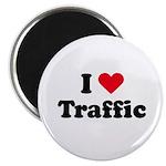 I love traffic Magnet