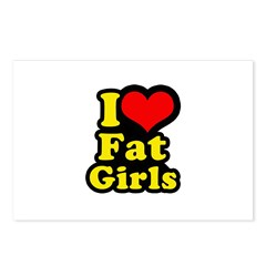 i love awesome guys Postcards (Package of 8)