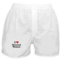 I love married women Boxer Shorts