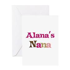 Alana's Nana Greeting Card