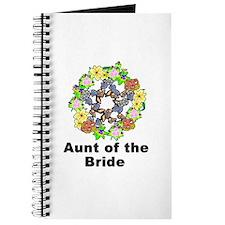 Pagan Pentagram Aunt of the Bride Journal