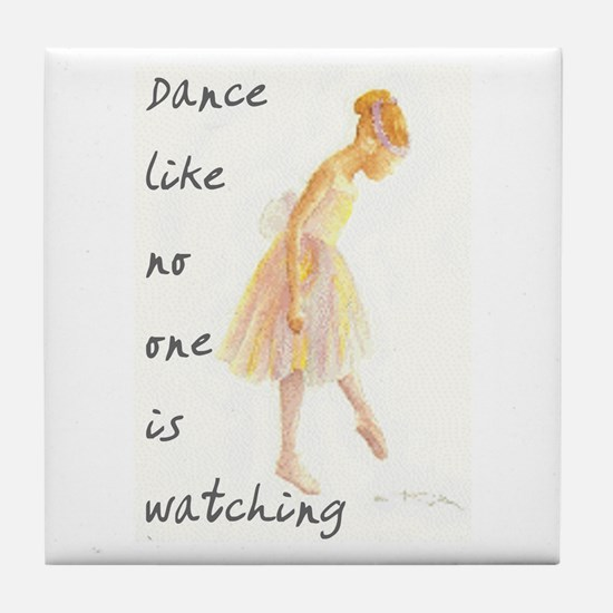 Dance Tile Coaster