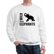 Wild About Elephants Sweatshirt