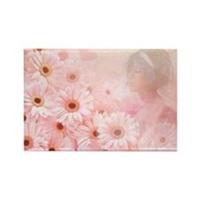 Pink Romance Rectangle Magnet