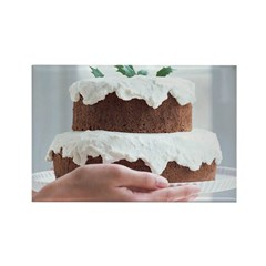 Eat Your Cake Rectangle Magnet (10 pack)