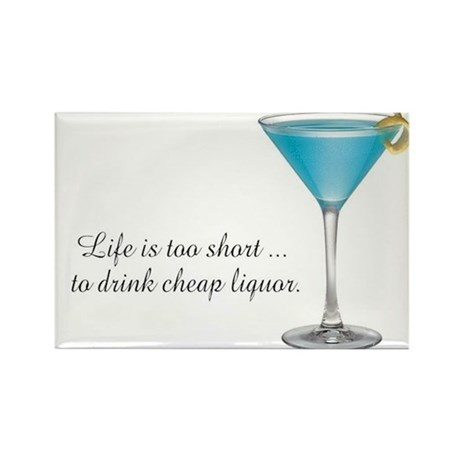 Martini Rectangle Magnet (100 pack)