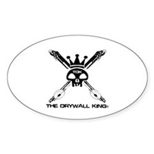 Skull & Bazookas Oval Decal