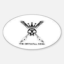 Skull & Bazookas Oval Decal
