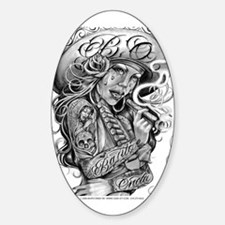 CHARRA Oval Decal