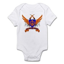 Raj Karega Khalsa. Infant Bodysuit