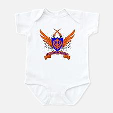 Raj Karega Khalsa. Infant Bodysuit