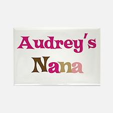 Audrey's Nana Rectangle Magnet