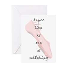 Ballet Slippers Greeting Card