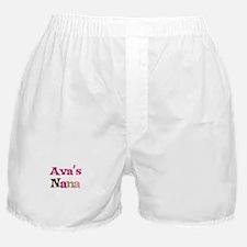 Ava's Nana Boxer Shorts