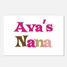 Ava's Nana Postcards (Package of 8)