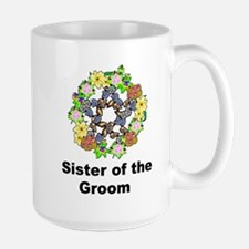 Pagan Pentagram Sister of the Groom Mug