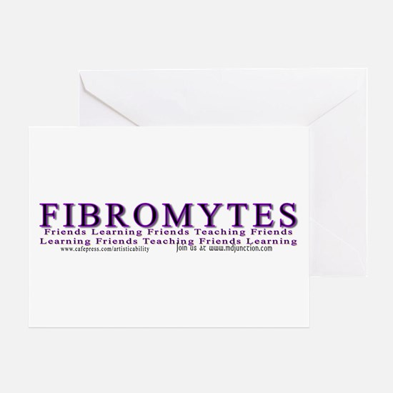 Fibro Friends Learning/teaching Greeting Card