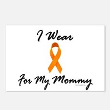 I Wear Orange For My Mommy 1 Postcards (Package of
