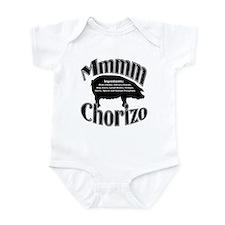 Mmmm Chorizo - Black Infant Bodysuit