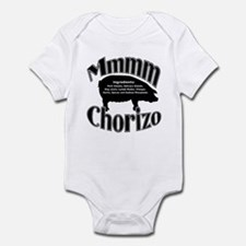 Mmmm Chorizo - Black Infant Bodysuit