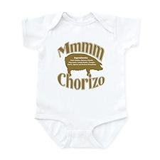 Mmmm Chorizo - Brown Infant Bodysuit
