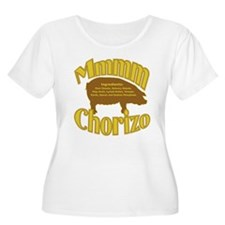 Mmmm Chorizo - Tan/Brown T-Shirt