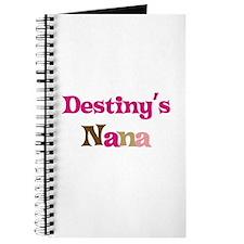Destiny's Nana Journal