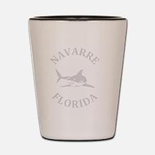 Cute Navarre beach Shot Glass