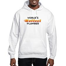 World's Hottest Plumber (B) Hoodie