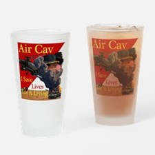 Air Cav Saves Lives Drinking Glass