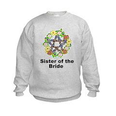 Pagan Pentagram Sister of the Bride Sweatshirt